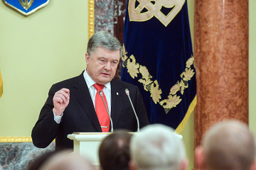 Poroshenko: Evidence of Russia's crimes against Ukrainians to be submitted to The Hague