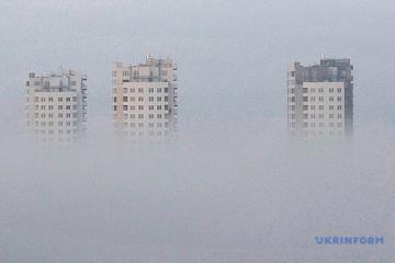 Діоксид сірки та фенол: пожежі забруднюють повітря у Києві