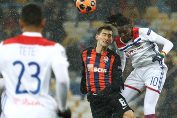 Shakhtar draws with Lyon, pulls out of Champions League