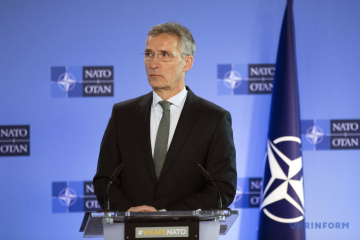 NATO not to comment on elections in Ukraine until second round - Stoltenberg