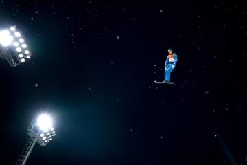 阿布拉缅科在2018冬奥会上的腾空照入选《时代周刊》百佳照片