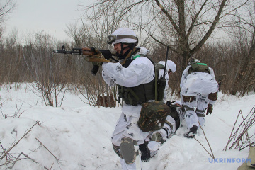 Militants launched seven attacks on Ukrainian troops in Donbas in last day