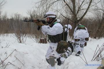 Donbass : Les formations armées illégales déploient des mortiers, 2 soldats ukrainiens blessés