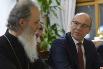 Parubiy agradece al metropolitano de Corea por apoyar el tomos para Ucrania