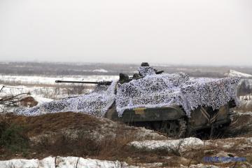 Donbass : les attaques ennemies à l'artillerie et au mortier ont fait un mort parmi les troupes ukrainiennes
