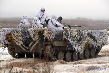 統一部隊作戦圏:4日のロシア占領軍攻撃8回、ウクライナ兵1名死亡、1名負傷