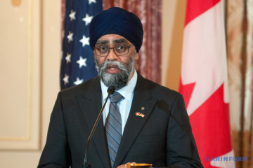 Canada's support for Ukraine unwavering - Defense Minister Harjit Sajjan