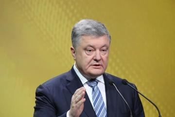 Poroshenko: Putin evita las negociaciones conmigo sobre la liberación de ucranianos, porque no tiene nada que responder