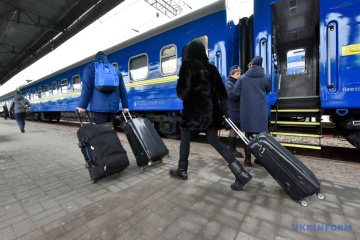 Ukrzaliznytsia carried almost 12M passengers this year