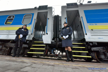 Ukrzaliznytsia carries almost 200,000 passengers during New Year holidays