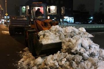 За два дні з Києва вивезли 5350 тонн снігу