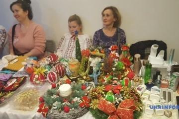 Feria de Navidad de Ucrania en Varsovia reúne un número récord de artesanos (Foto, Vídeo)