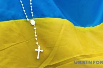Ukrainian flag raised in occupied Crimea in support of captured sailors. Video