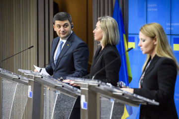 Ukraine's PM outlines priorities of cooperation with EU