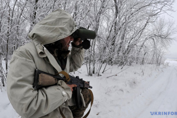 Militants launched 3 attacks on Ukrainian troops in Donbas in last day