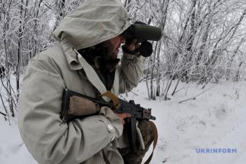На Донбасі збили дрон окупантів із осколковою вибухівкою