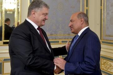 Poroshenko se reúne con el presidente del BERD