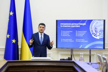 Volodymyr Hroisman a défini les cinq priorités du Conseil des ministres pour 2019