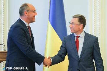Parubiy a Volker: Ucrania cuenta con el apoyo de Estados Unidos