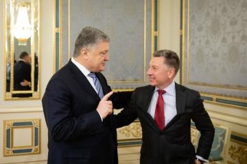 El presidente se reunió con el representante de EE. UU. para Ucrania (Fotos)