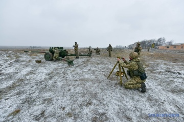 Invaders use grenade launchers in first hours of New Year truce in Donbas