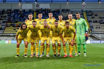 Ucrania se mantiene en el puesto 24 del ranking FIFA