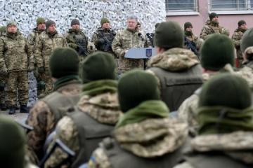 Ukraine strengthens air defense, increases defense capability during martial law – Poroshenko