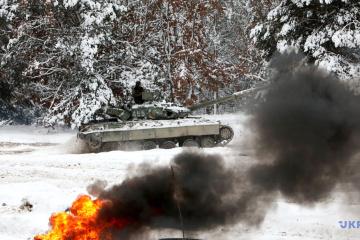 Im Donbass kommen feindliche Mörser und Granatwerfer zum Einsatz