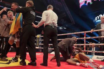 Boxer Stevenson bleibt bewusstlos im Krankenhaus von Quebec