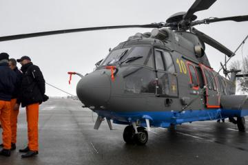 Les deux premiers hélicoptères Airbus sont entrés en service dans la Garde nationale et au Service des situations urgentes
