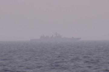 Russische Raketenfregatte von der Krim Richtung Asowsches Meer unterwegs - Reuters