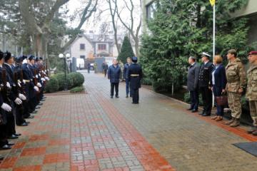 UK Defence Secretary to visit naval base in Odesa