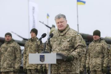 Präsident: Nächstes Jahr erhält Armee mehr als 100 Mrd. UAH