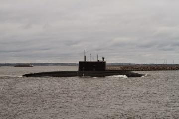 Росія проводить навчання підводних човнів біля берегів Криму