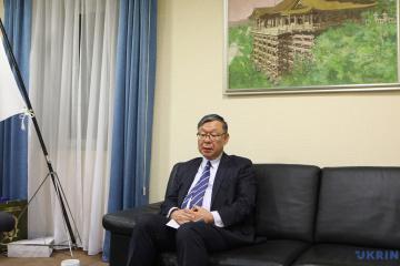 角日本国大使:ロシアのクリミア「併合」の違法な状況が続く限り、日本は制裁を継続