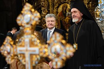 ポロシェンコ大統領、モスクワ聖庁改名の法律に署名