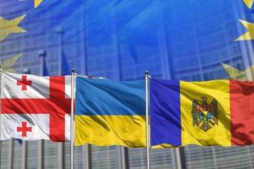 Moldova, Georgia and Ukraine condemn Russia's aggression in Sea of Azov