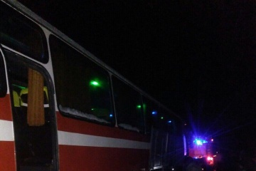 Poltawa: 13 Busse mit Insassen auf dem Schnee befreit - Fotos