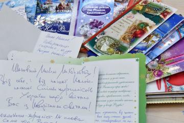 Żona Suszczenkoodwiezie mu do kolonii pocztówkisolidarności