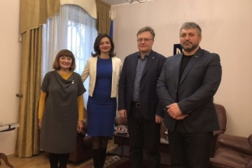 Ambassador Betsa thanks diaspora in Estonia for promoting Ukraine