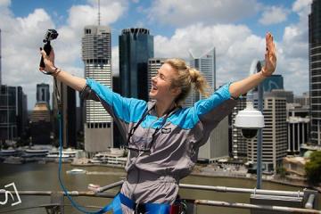 Svitolina sube a la cima del puente Story Bridge en Brisbane (Foto)