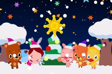 Ucranianos crean un vídeo animado navideño para niños