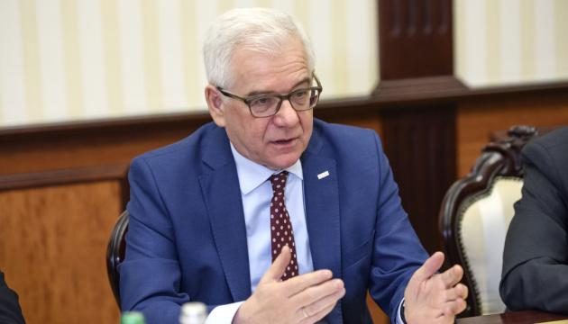 ポーランド外相、国連事務総長ウクライナ問題特使を任命するよう提案