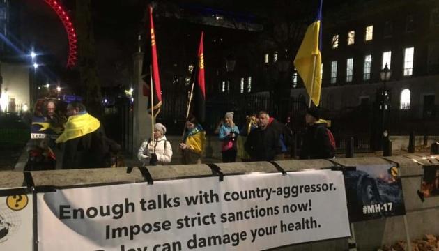 В Лондоне украинцы объявили месячную акцию против российской агрессии
