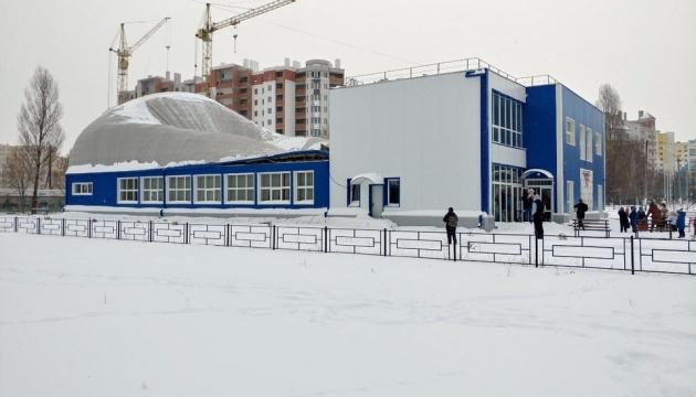 В новом спорткомплексе под Киевом обрушилась крыша