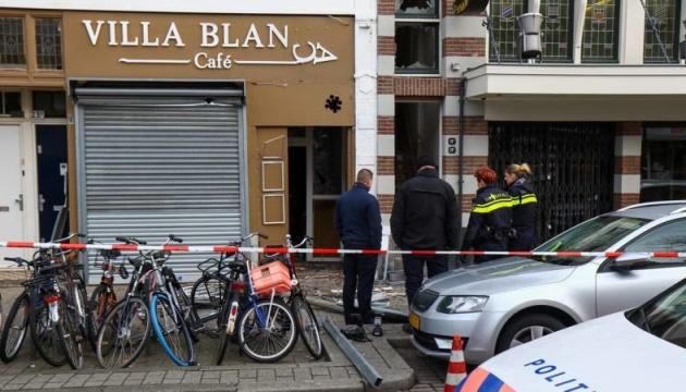В Роттердаме произошел взрыв, которым выбило стекла в окрестных домах