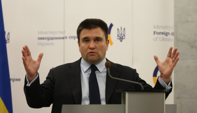 Klimkin calls on OSCE to send observers to Ukraine's presidential election