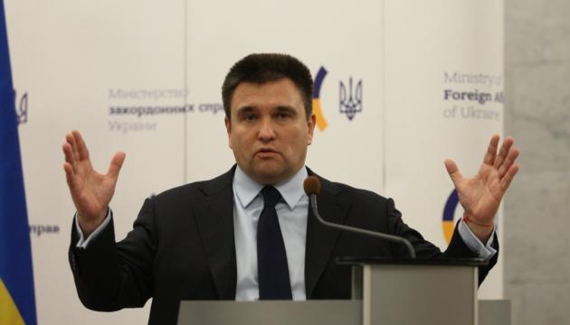 Klimkin nimmt an EU-Außenministertreffen teil