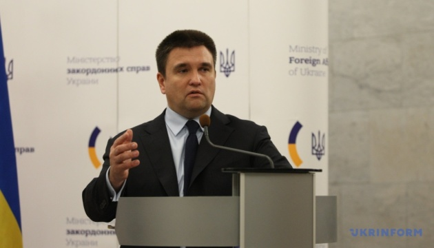 Klimkin today to discuss Russian aggression with EU foreign ministers