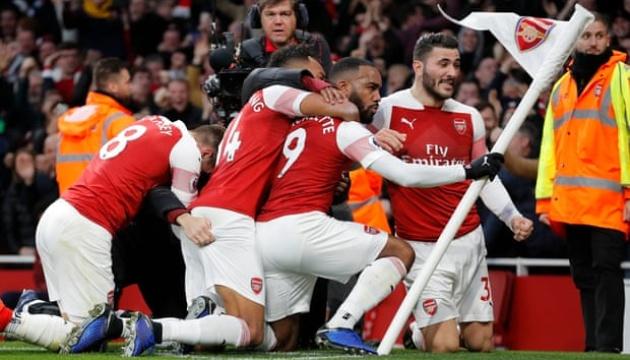 АПЛ: «Арсенал» переміг у дербі Північного Лондона